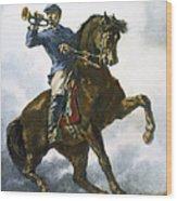 Civil War: Bugler, 1863 Wood Print