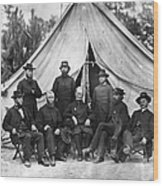 Civil War: Chaplains, 1864 Wood Print
