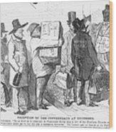 Civil War: Copperhead, 1863 Wood Print