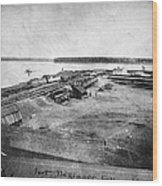 Civil War: Fort Defiance Wood Print
