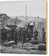 Civil War: Headquarters Wood Print