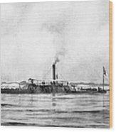 Civil War: Mobile Bay, 1864 Wood Print