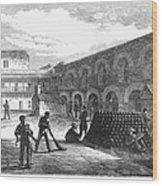 Civil War: New York Fort Wood Print by Granger