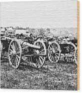 Civil War: Parrott Guns Wood Print