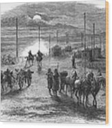 Civil War: Potomac Bridge Wood Print