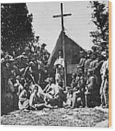 Civil War: Religion Wood Print