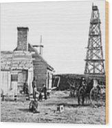 Civil War: Signal Tower Wood Print