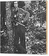 Civil War: Soldier, 1861 Wood Print