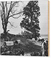 Civil War: Supply Base, 1864 Wood Print