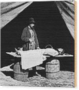 Civil War: Surgeon Wood Print
