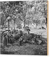 Civil War: Torpedo Shells Wood Print