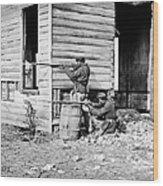 Civil War: Union Soldiers Wood Print