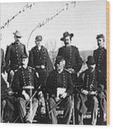 Civil War: Veterans Wood Print