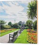 Clacton Pleasure Garden Wood Print
