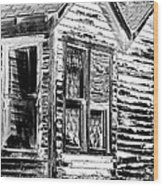 Clapboards And Lace Wood Print