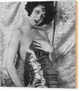 Clara Bow, 1926 Wood Print by Everett