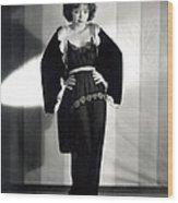 Clara Bow, Around 1929 Wood Print