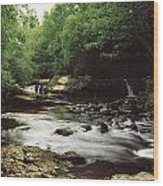 Clare River, Clare Glens, Co Tipperary Wood Print