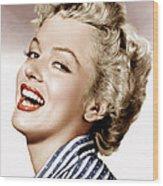 Clash By Night, Marilyn Monroe, 1952 Wood Print