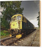 Class 33 At Bishop Auckland Wood Print