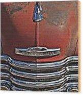 Classic 50s Chevy Wood Print