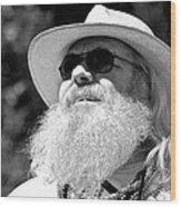 Classic Beard Wood Print