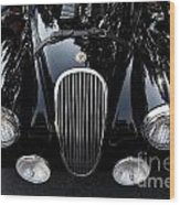 Classic Black Jaguar . 40d9322 Wood Print