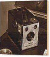 Classic Camera Wood Print