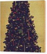 Classic Christmas Wood Print