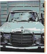 Classic Coupe Wood Print