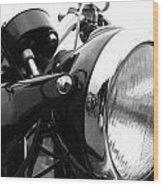 Classic Douglas Headlight Wood Print