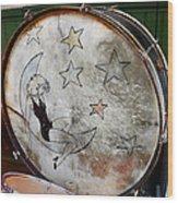 Classic Drums Wood Print