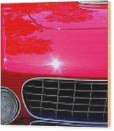 Classic Ferrari Wood Print
