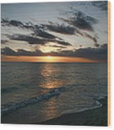 Classic Sunset Wood Print