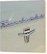 Classic T-bird Wood Print