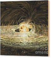 Classic T Tauri Star Wood Print