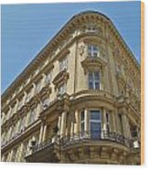 Classical Architecture in Vienna Wood Print