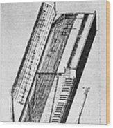 Clavichord, 1636 Wood Print