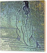 Cleopatra's Ghost Wood Print