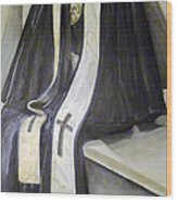 Clergy Attire Wood Print by Linda Pope
