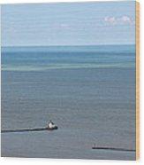 Cleveland Harbor Lighthouse Wood Print