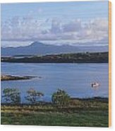 Clew Bay, Co Mayo, Ireland Wood Print