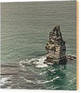 Cliff Of Moher 17 Wood Print