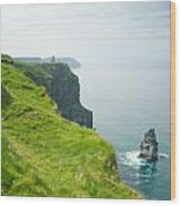 Cliff Of Moher 24 Wood Print