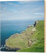 Cliff Of Moher 26 Wood Print