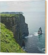 Cliff Of Moher 28 Wood Print