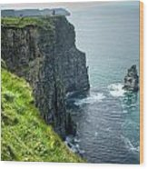 Cliff Of Moher 29 Wood Print