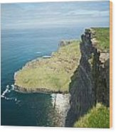 Cliff Of Moher 30 Wood Print