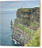 Cliff Of Moher 35 Wood Print
