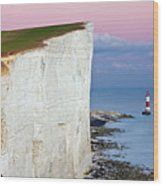 Cliff Wood Print by Paul Thompson